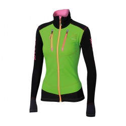 ALAGNA  W JACKET- colore: Apple Green/Black