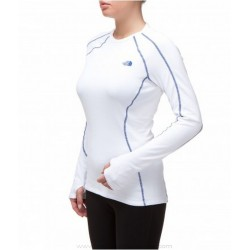 MAGLIA TERMICA INTIMO DONNA WARM L/S CREW NECK - THE NORTH FACE - col. TNF WHITE -